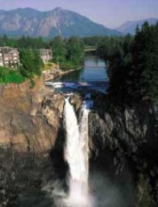 Washington's Snoqualmie Falls and the Salish Lodge & Spa