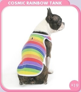 Colorful Puppy Tank Tops by Trixie + Peanut