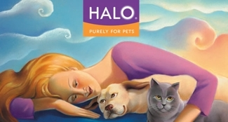 Super Stain & Odor Remover for Dogs & Cats by Halo