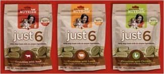 Nutrish Just 6 treats