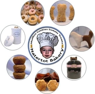 All Natural Dog Treats & Gifts by Natertot Bakery
