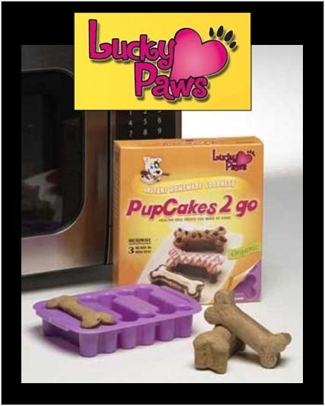 3 Minute Microwavable PetCakes by Lucky Paws