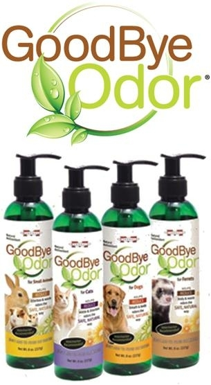 GoodBye Odor for Dogs, Cats & Small Animals