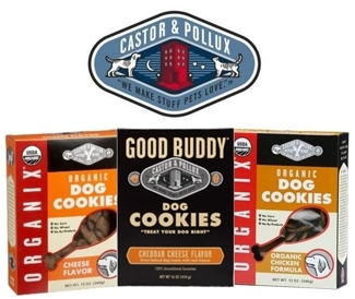 Good Buddy Peanut Butter & Organix Dog Cookies