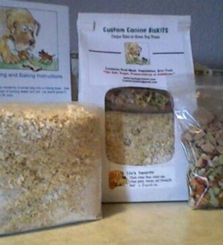 Ora's Favorite Dog Treat Mix by Custom Canine BisKITS
