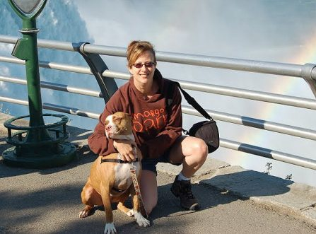 """""""Pit Stops"""": Michelle Sathe's road trips with adoptable Pit Bulls"""