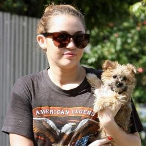 Miley Cyrus mourns the death of her dog