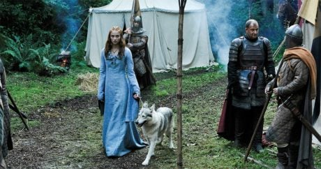 "Game of Thrones actress adopts her ""direwolf"""
