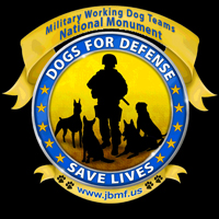 National monument for Military Working Dogs dedicated