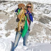 Former stray becomes first dog to climb Mount Everest