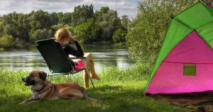 Camping with canines