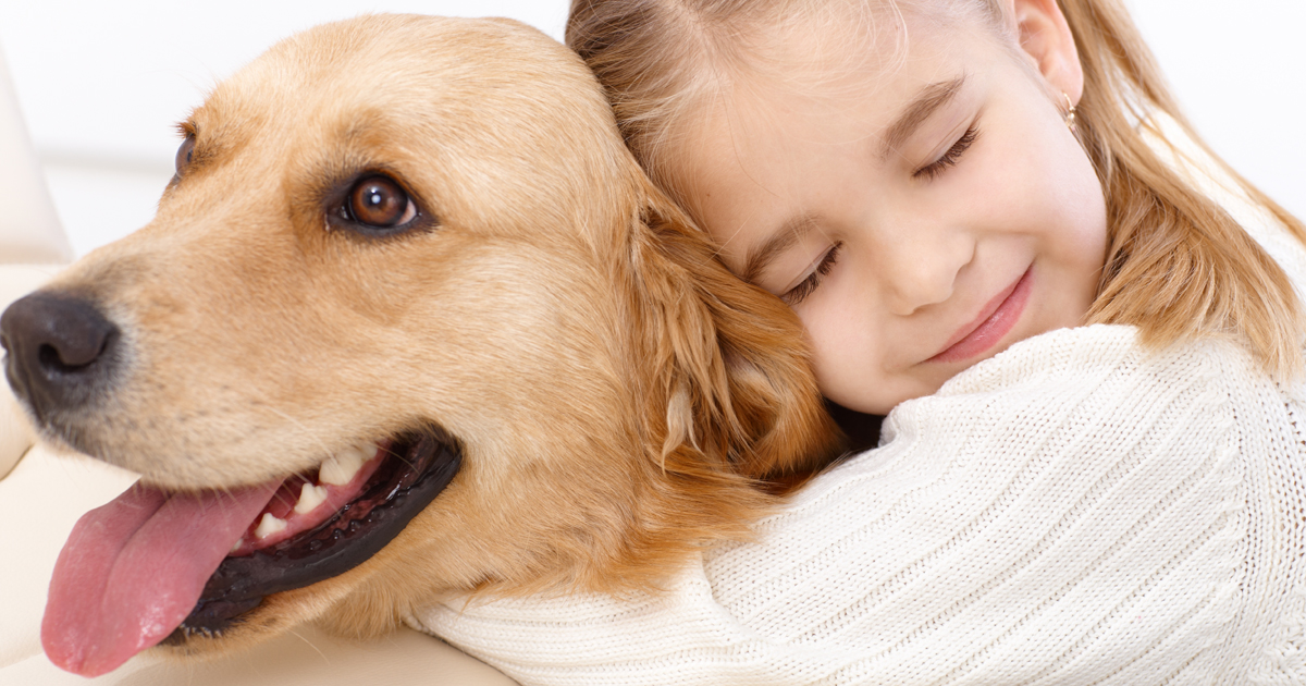 10 Pictures Of Kids Who Love Their Dogs - Dogtime American Water Spaniel Dogtime