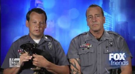 Police Officer Adopts Puppy He Saved From A Hot Car For His Daughters [VIDEO]