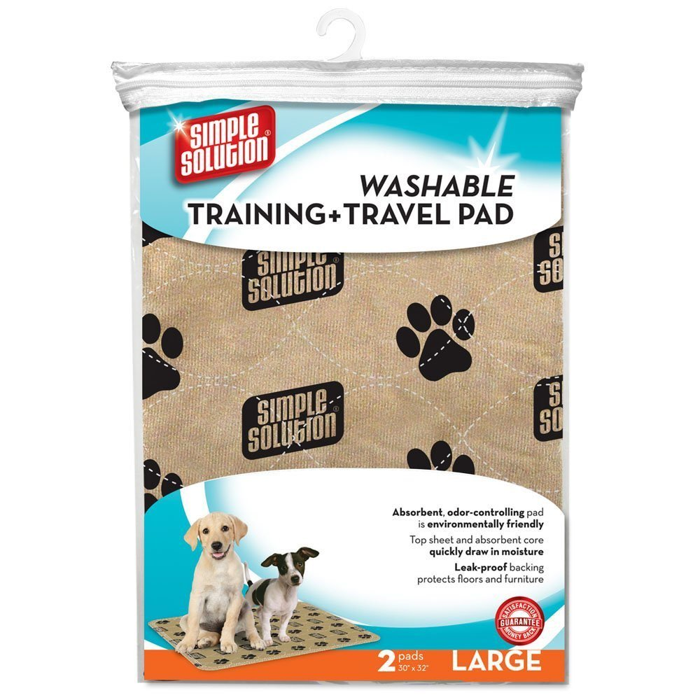 Image of product as you would see it on Amazon. Washable pads inside their packaging.