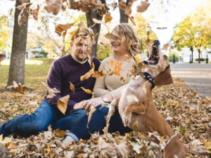 Dachshund Photobombs Engagement Shoot And Goes Viral
