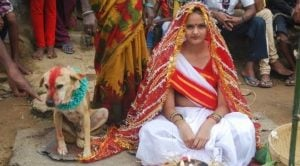 Teenage Girl Marries Dog To Remove Evil Curse