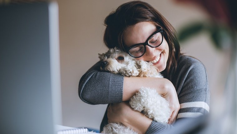 How To Teach Your Dog To Give Hugs PLUS 30 Dogs Who Love Cuddly Hugs [GALLERY]