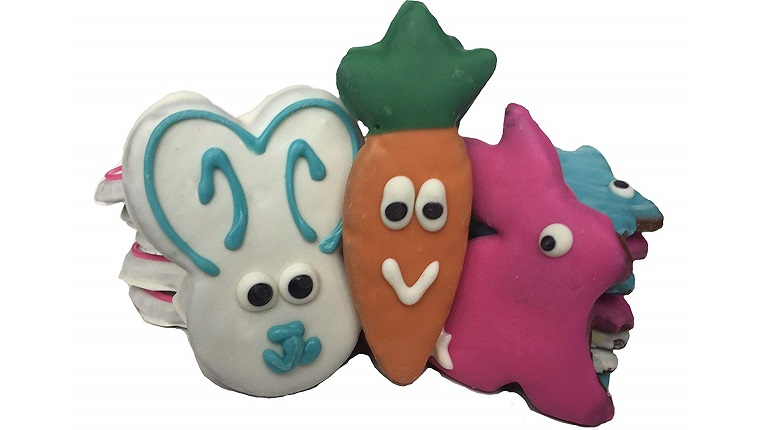 easter shaped dog treats