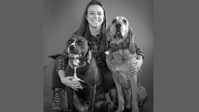Dr. Varble and her dogs!