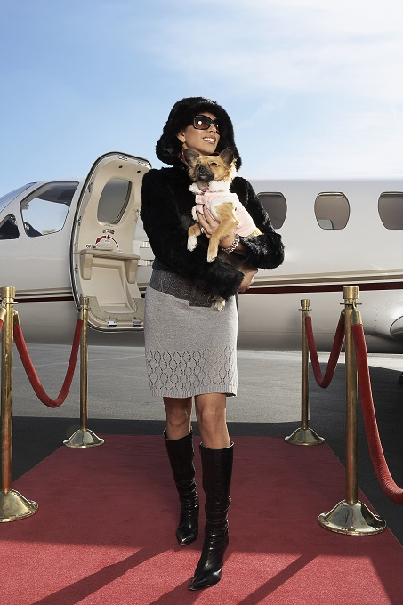 I only fly private jets.